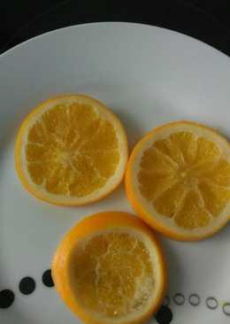 Naranja escarchada (para postres)