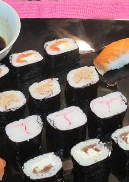 Sushi y nigiri