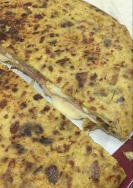 Tortilla Jamón/Queso🍳🧀