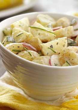 Ensalada campera (Receta vegetariana)
