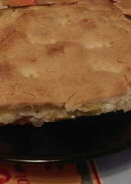Empanada bacón y nata