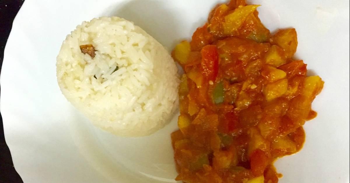 Guarnici n de arroz 26 recetas caseras cookpad for Arroz blanco cocina al natural