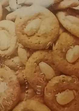 Bocaditos dulces con almendras