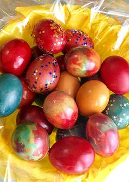 Huevos de colores 🐣🎨 - receta de pascua