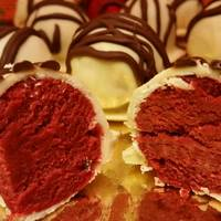 Trufas o bombones Red Velvet (Terciopelo Rojo)