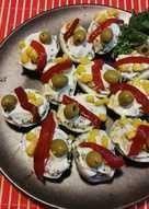 Huevos vegetarianos con atún 🌱 vegano