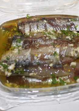 Sardinas arenques para aperitivo