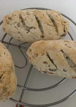 Pan de pipas de girasol sin gluten