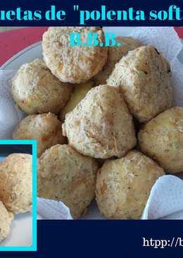 Croquetas de polenta soft estilo B.B.B.