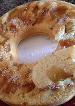 Torta de manzana rápida y económica