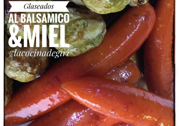 Vegetales Glaseados al Balsámico y Miel