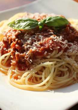 Espagueti a la Boloñesa o Bolognesa