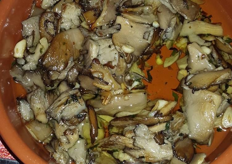 Setas al ajillo receta de ney cookpad - Setas cultivadas al ajillo ...