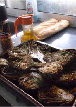 Alcachofas picantes