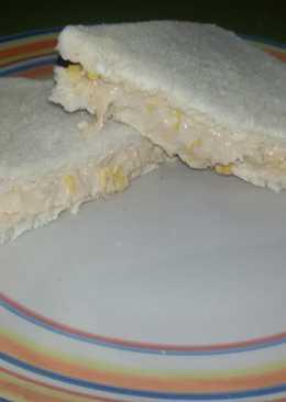 Pasta de atún y maíz para sándwich con thermomix