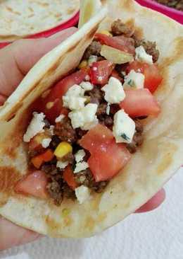 Tacos súper fáciles con carne picada!