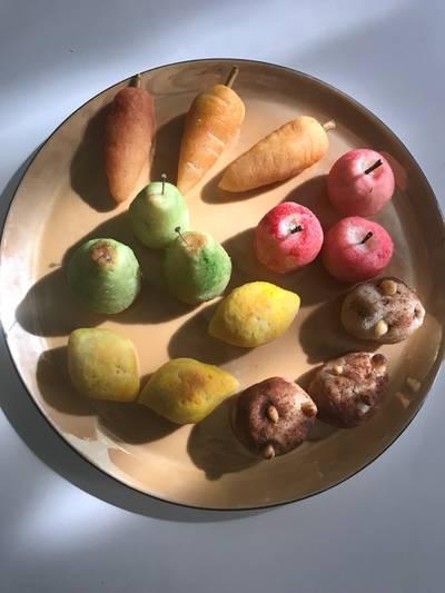 Frutitas dionisíacas (para Sant Dionís)