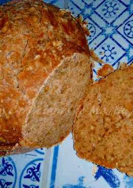 Pan integral con pipas de girasol