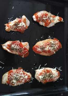 "Filetes de pollo ""pizza"""