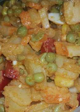 Ensalada con surimi