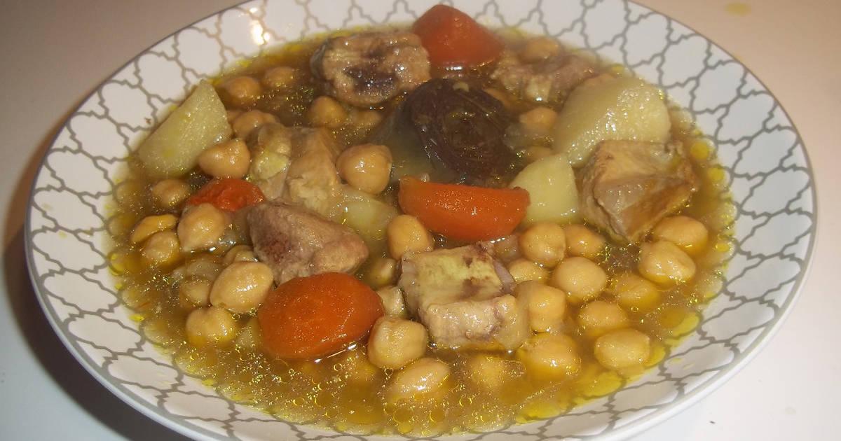 Garbanzos con costilla de cerdo 86 recetas caseras cookpad - Garbanzos con costillas ...