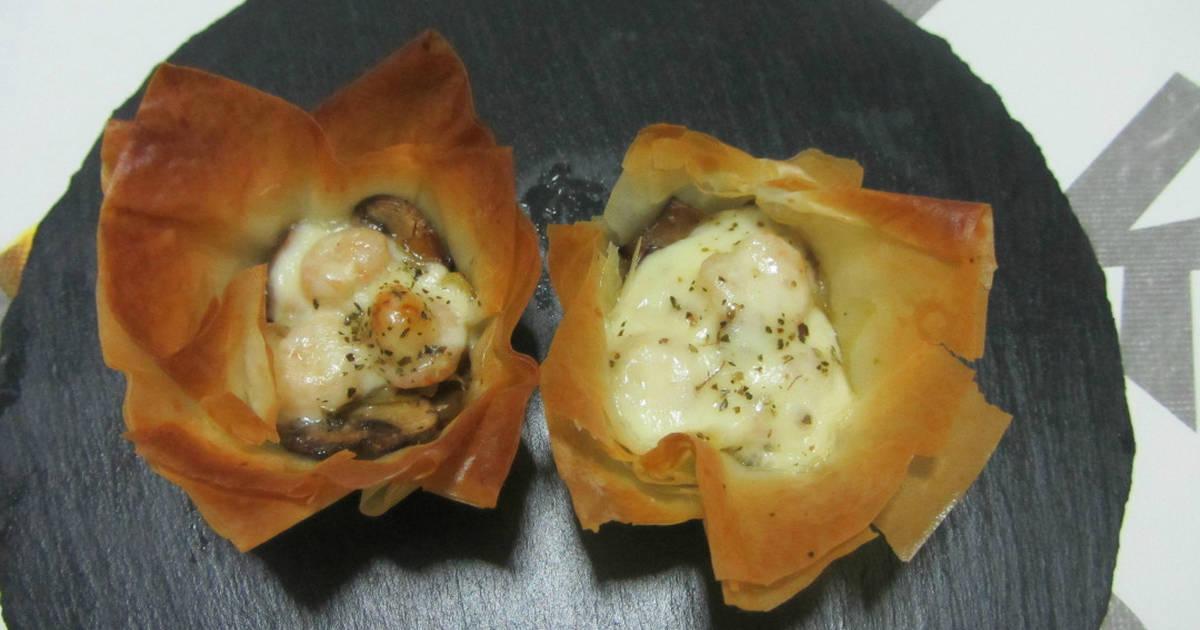 Rellenos para tartaletas 170 recetas caseras cookpad - Nata para cocinar mercadona ...