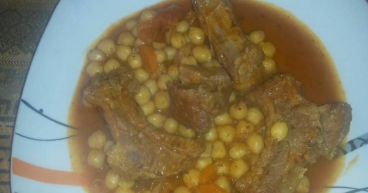 Garbanzos con costilla de cerdo 140 recetas caseras - Garbanzos con costillas ...