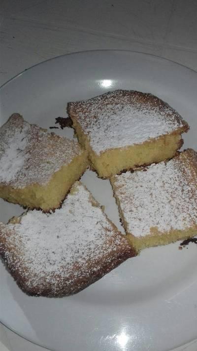 Torta de polenta y coco