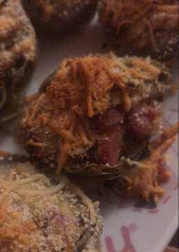 Alcachofas rellenas al horno