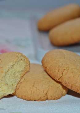 Galletas de almendra (tipo Campurrianas)