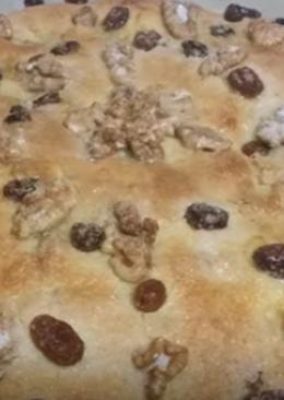 Torta Pasas y Nueces