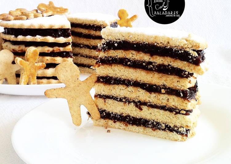 Vínarterta & Piparkökur / Pastel de Celebración & galletas con especias Navidad en [Islandia]