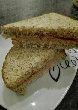 Cena mi sándwich favorito y fácil de paté