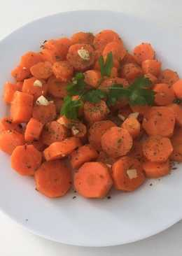 Guarnición de zanahorias
