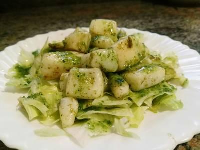 Sepia con salsa verde