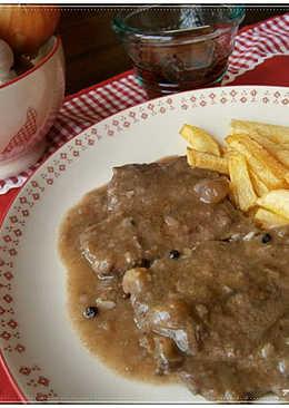 Filetes de ternera 218 recetas caseras cookpad - Filetes de ternera en salsa de cebolla ...