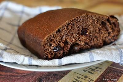 Bizcofit de chocolate con arándanos