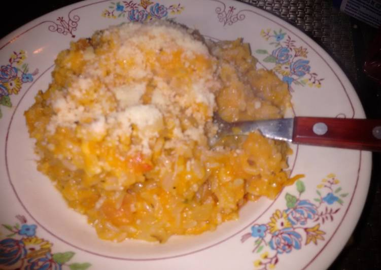 Risotto de arroz integral y zapallo receta de natalia - Risotto arroz integral ...
