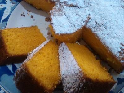 Torta de zanahoria esponjosa