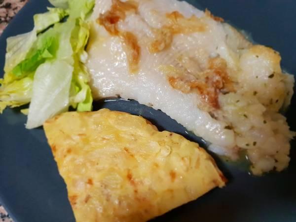 Filete de halibut a la sartén