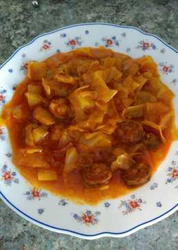 Guiso de repollo 20 recetas caseras cookpad - Repollo en olla express ...
