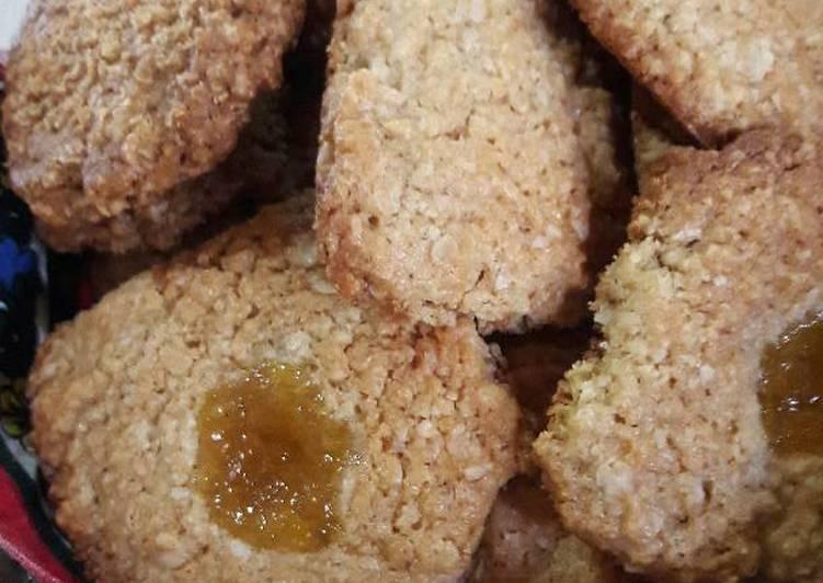 Cookies de avena fáciles y rápidas!😋