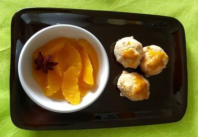 Ensalada de naranja aromatizada