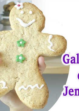 Galletas de Jengibre (ginger bread)