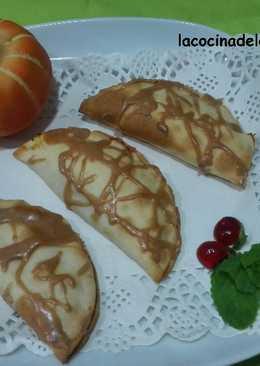 Empanadillas dulces de calabaza y canela
