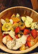 Ensalada de frutas y chía