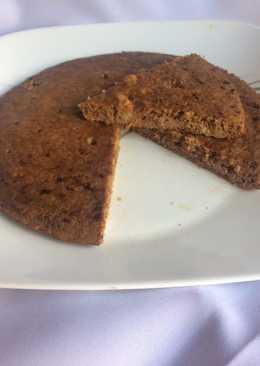 Tortilla de avena, banana y café fit