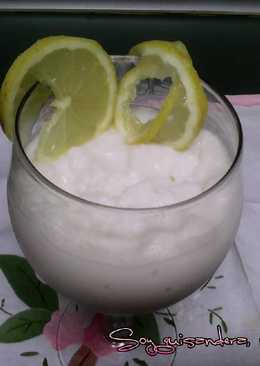 Granizado de yogur y limón