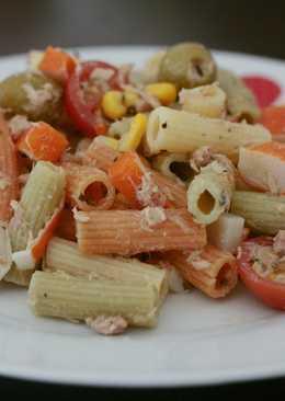 Ensalada fresca de pasta de verduras (perfecta para tupper!)