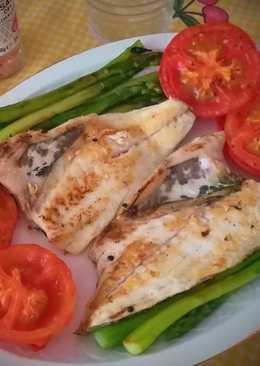 Dorada a la plancha con verduras